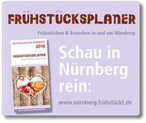Frühstücksplaner für die Metropolregion Nürnberg