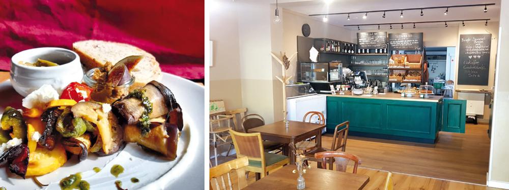 Frühstück + Innenraum 7Tisch Café